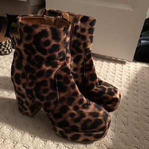 Urban Outfitters booties worn TWICE